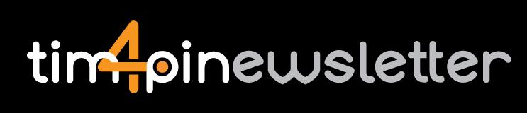 Tim4pin_NEWSLETTER_logo_NEGATIV